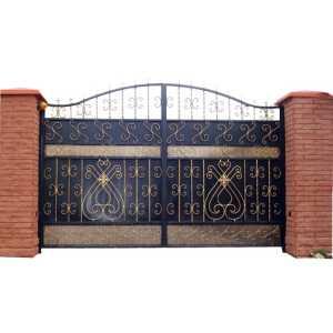 Кованые ворота для дачи в Наро-Фоминске